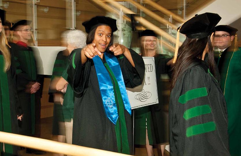 photo of graduation 2011