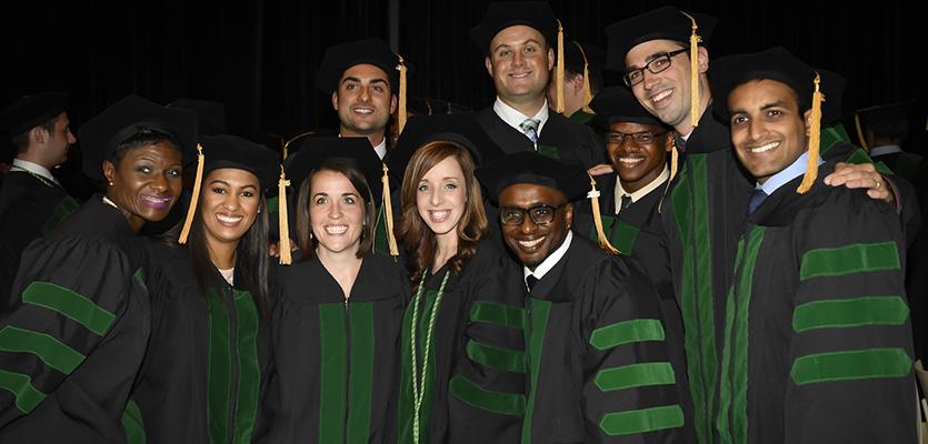 Class of 2016 at graduation
