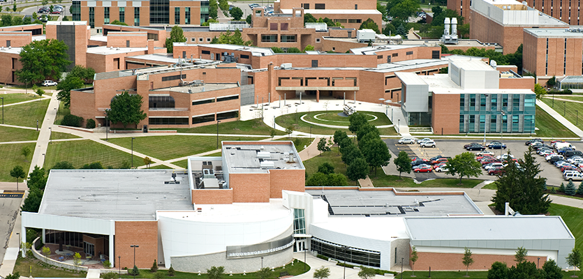 Wright State University Campus Map Directions and Maps | Boonshoft School of Medicine | Wright State