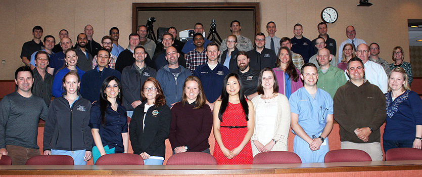 2015 Emergency Medicine residents and faculty