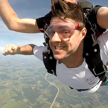 Dr. Alex Mirzoev at Skydive Xenia