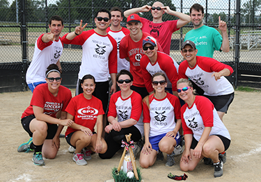 Psychiatry Residents ball team