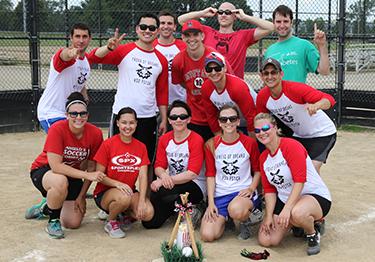 Psychiatry Residents ball team