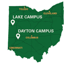 Lake Campus on Ohio map