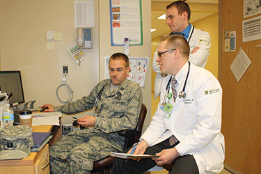military pediatrics residents