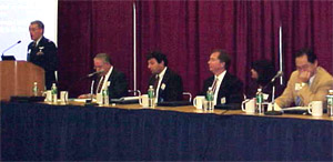 photo of the 2002 conference panel speakers