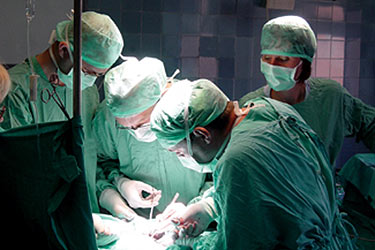 photo of doctors in surgery