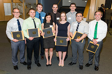 photo of the 2014 Gold Humanism Society inductees