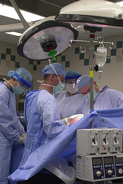 photo of surgeons in an operating room