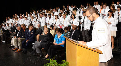 The annual Convocation and White Coat Ceremony