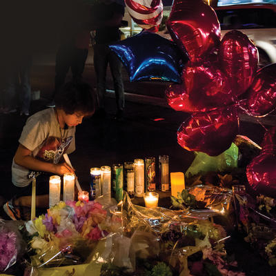 Mourning in Vegas after Tragedy