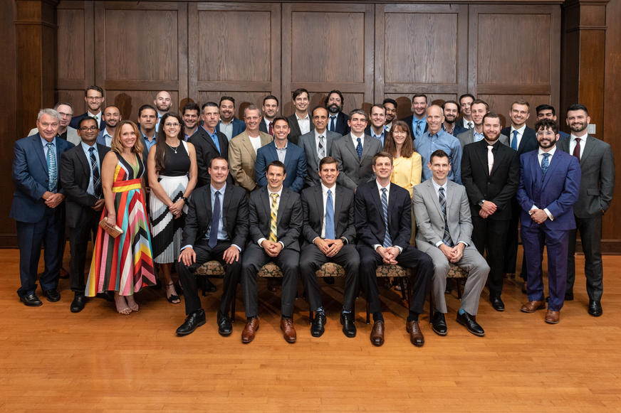 Residents and Faculty, Graduation June 2021