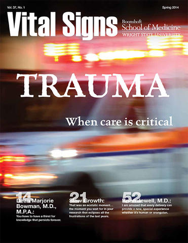 Cover of Vital Signs Spring 2014