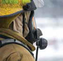 photo of a firefighter
