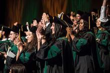 BSOM Students at graduation.