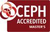 CEPH Accredited Master's